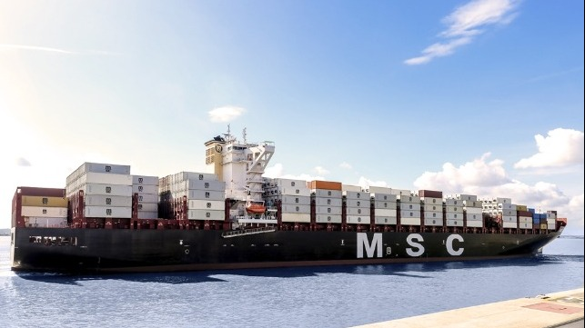 Crew MSC container ship tests positive for COVID-19 in China