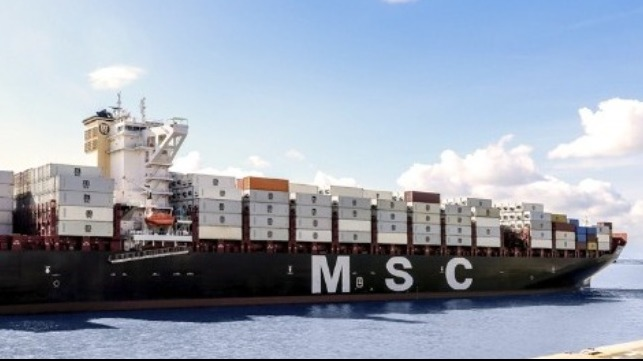 MSC testing alternative fuels on container ships