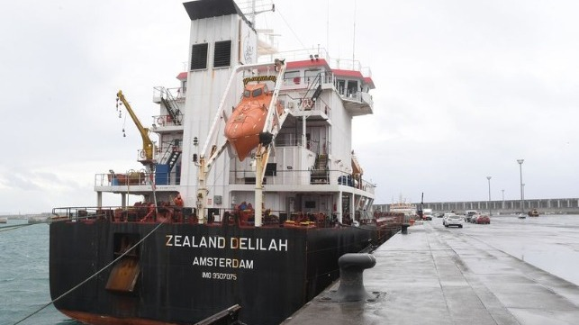 Dutch cargo ship flooding requests shelter port in Spain
