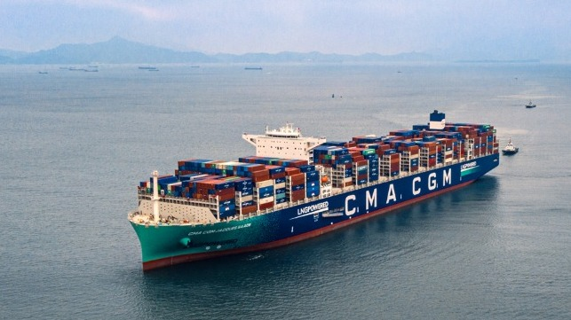 CMA CGM supporting production of biomethande gas