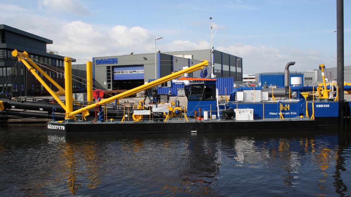 Cutter Suction Dredger 350