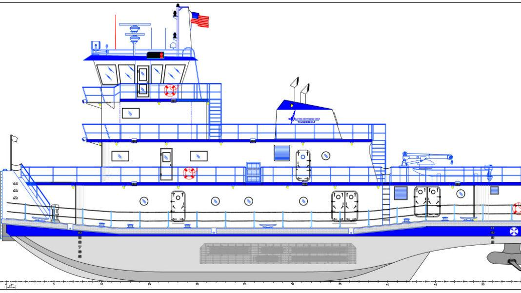 Eastern Shipbuilding Introduces New Inland Towboat