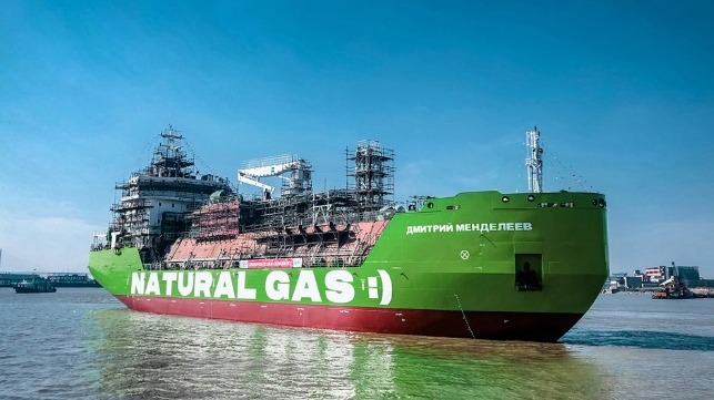 more lng bunker vessels in Russian and Span