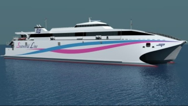 Kongsberg Maritime signs inaugural deal with Incat for large-size waterjets