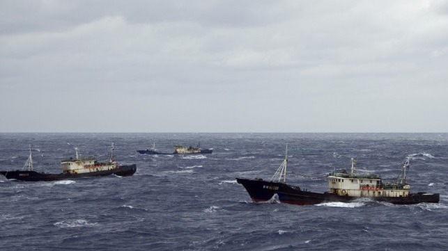 chinese fishing vessels