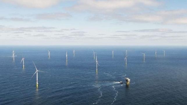 Taiwwan offshore wind field