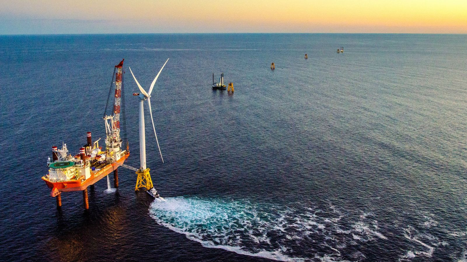 First US offshore wind farm enters construction