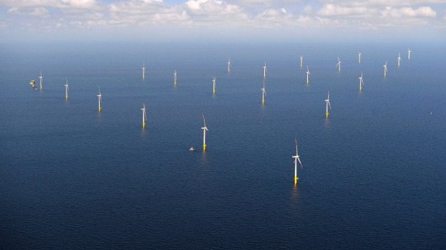 file photo: EnBW Baltic 1 windfarm credit Matthias Ibeler
