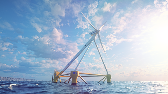 prototype testing to address effency in floating offshore wind