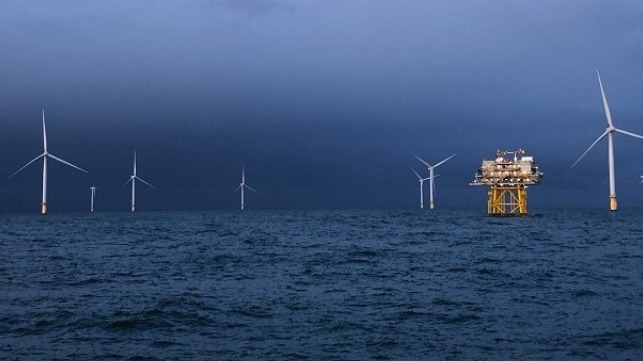 Dudgeon offshore wind farm. (Photo: Sonja Chirico Indrebø)