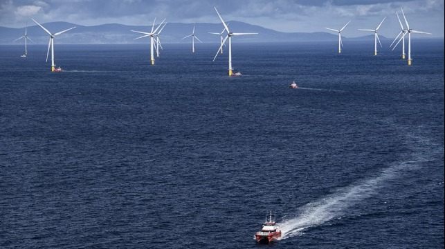 largest offshore loating wind farm leases