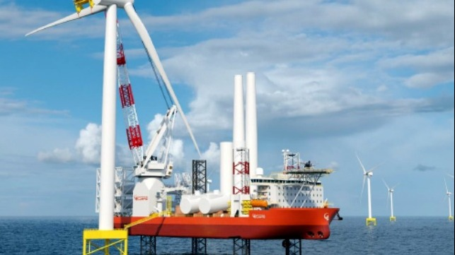 design for new wind turbine installation vessel