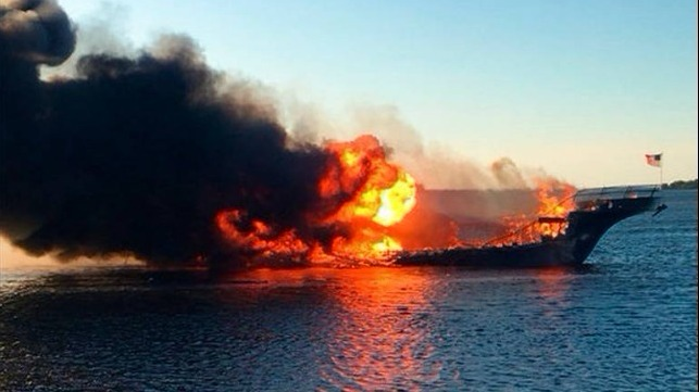 Flames engulf casino cruise in Port Richey
