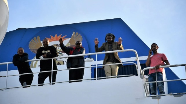60 seafarers returned to Cape Town after rescue in South Atlantic