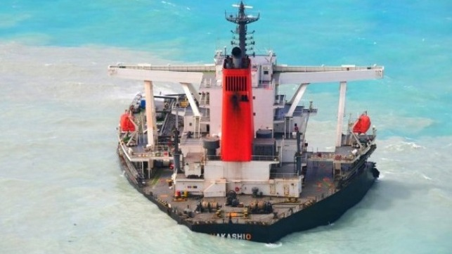 salvage to begin in Mauritius on wrecked bulk carrier Wakashio