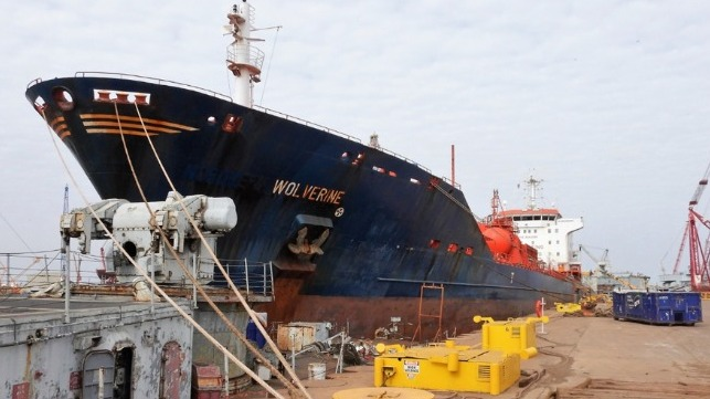 EU accredited shipbreaking