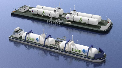 Crowley Maritime Leads Its Own Lng Revolution