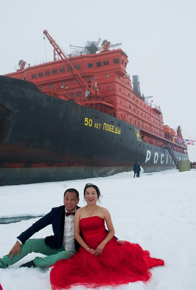 satire the icebreaker English: my wives, icebreakers and russia russian: о моих женах, о ледоколах и о россии  the original date and location of publication are unknown, although he mentions the 1928 rescue of the nobile expedition by the krasin , the renamed svyatogor.