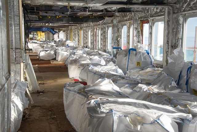 Costa Concordia Dismantling In Pictures