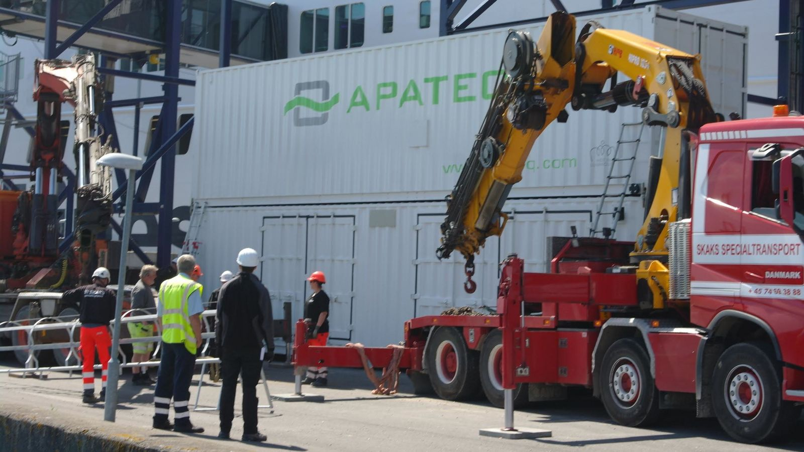Scandlines Applies APATEQ's Innovative Scrub Water Treatment System