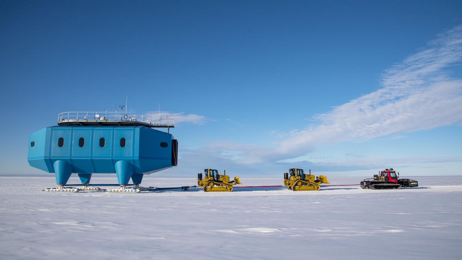 Halley Research Station Relocation