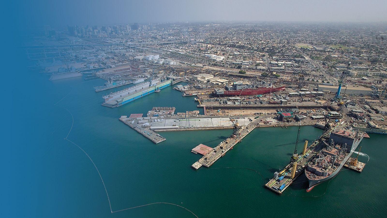 NASSCO San Diego Harbor