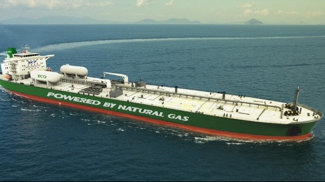LNG-fueled tanker
