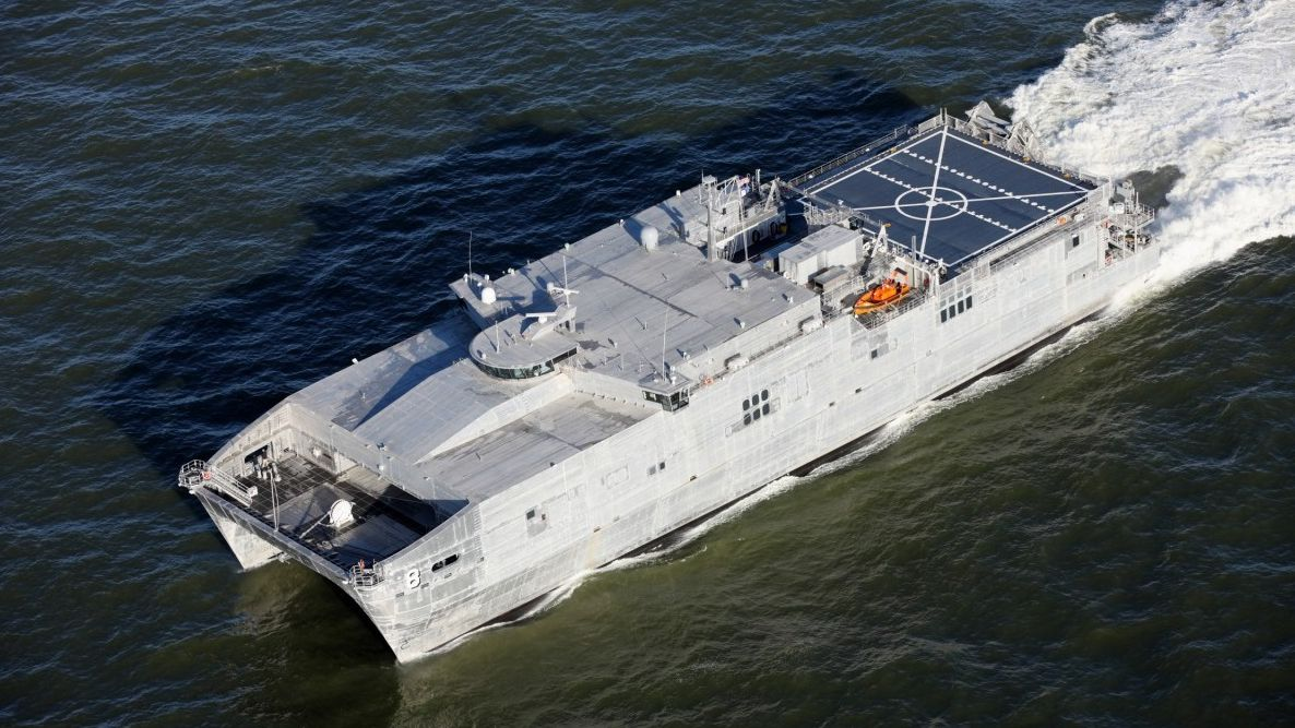 USNS Yuma is the eighth Joint High Speed Vessel (JHSV) to have Solar Solve Marine's SOLASAFE roller sunscreens installed at the Navigation Bridge windows as a safety aid, to improve working conditions for personnel as well contribute towards cost and environmental issues.