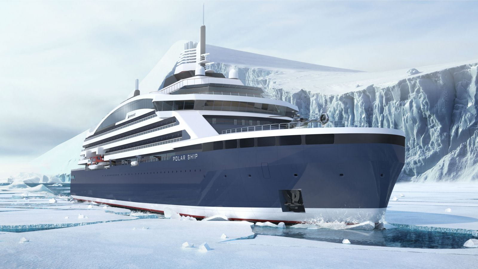 Vard To Build First Arctic Lng Cruise Vessel For Ponant