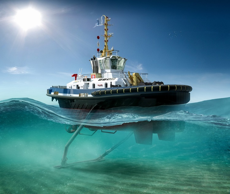 Veth Propulsion Delivers First Z-Drives To Damen Tug
