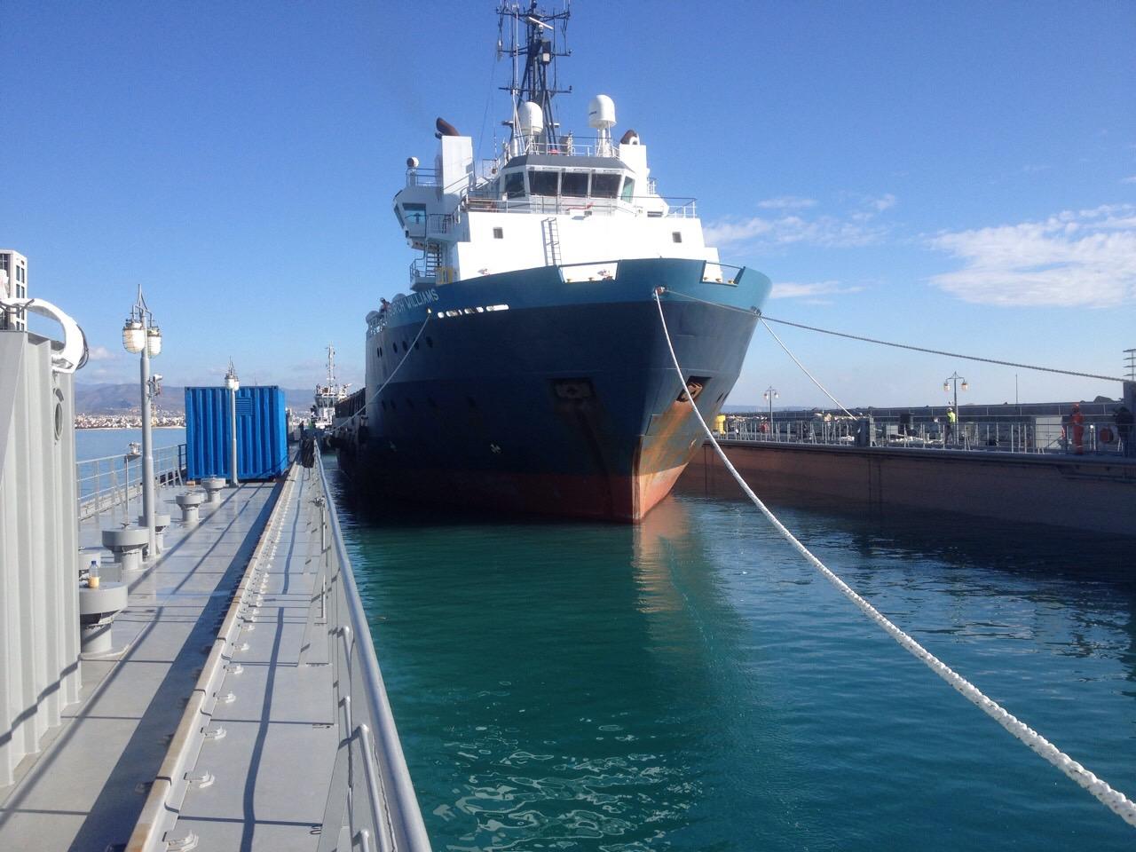 Floating Dock Ereneos Enters Operation in Limassol