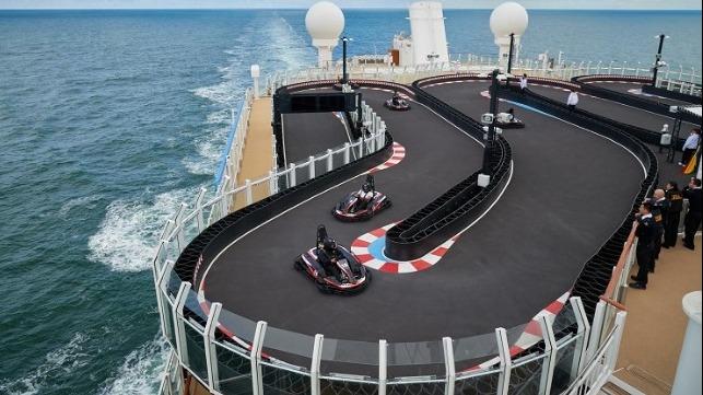 Norwegian Joy racetrack