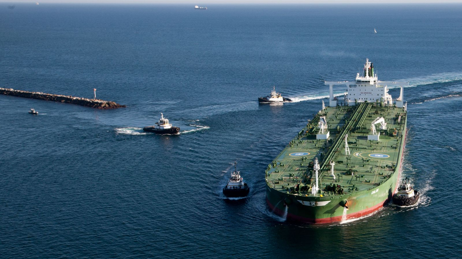 Supertankers with ABB software