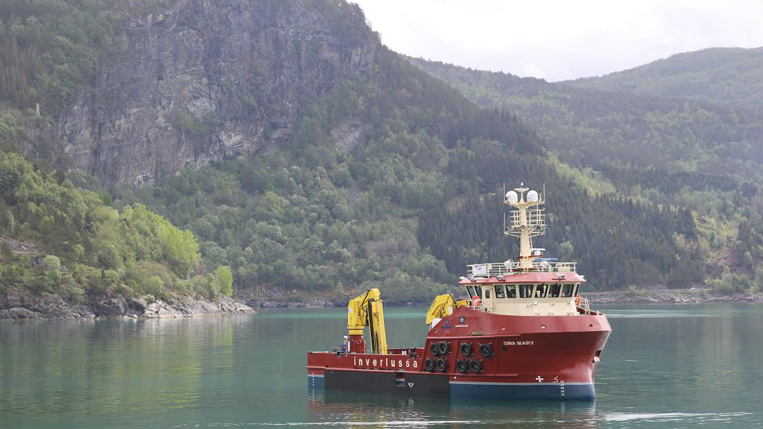 Aquaculture Workboat for Inverlussa Marine Services
